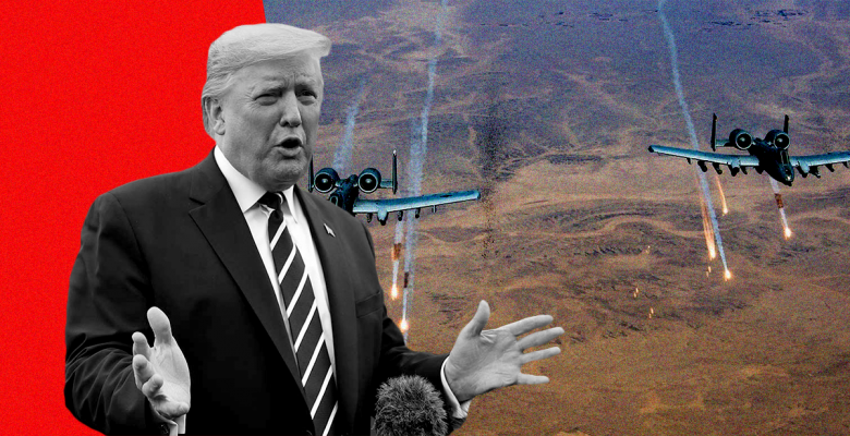 US Strikes Taliban Hours After Trump Brags About His Great Relationship With Its Leader