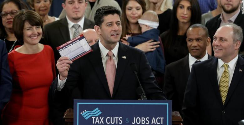Republicans Successfully Pass Tax Bill