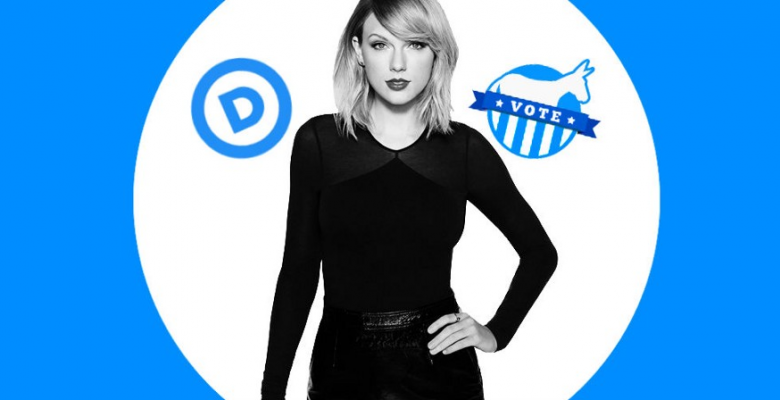 STAR POWER: Taylor Swift Endorsement Leads Thousands to Register Democrat