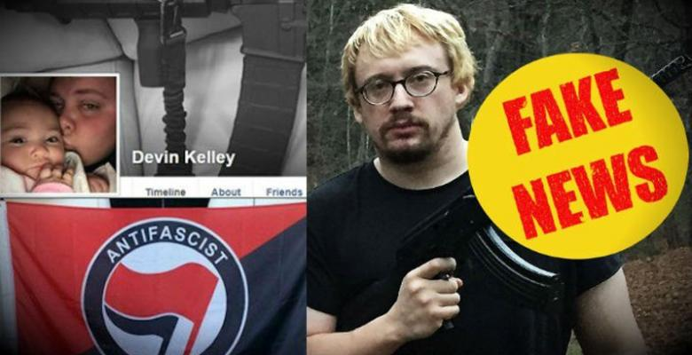Fake News: The Texas Shooter Was Antifa AND Alt-Right