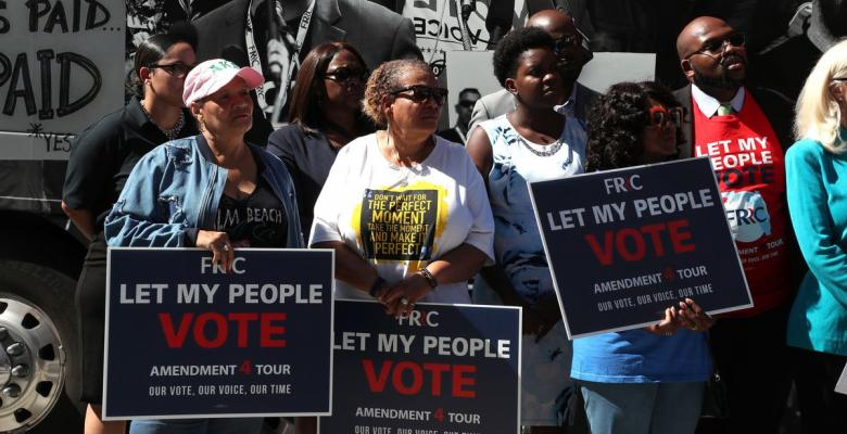 Florida Appeals Court Rules Ex-Felons Must Pay Court Fees Before Voting