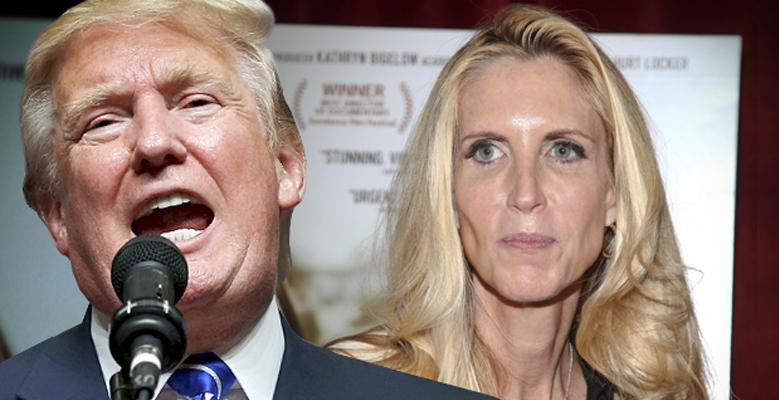 Ann Coulter Goes On Twitter Rant Against Trump Tax Cuts