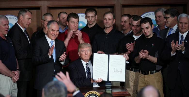 Trump Follows Through On Scaling Back EPA Regulations