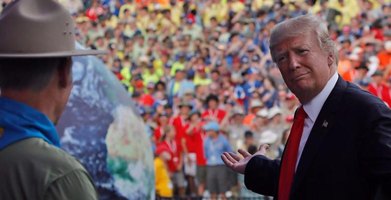 What Was Trump Thinking At The Boy Scouts Jamboree?