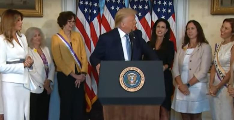 Trump Pardons Susan B. Anthony on 19th Amendment Centennial