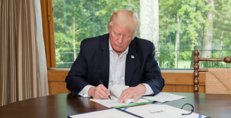"""Trump Says """"One of My Greatest Honors"""" Was Signing Veterans Bill -- That Was Signed by Obama"""