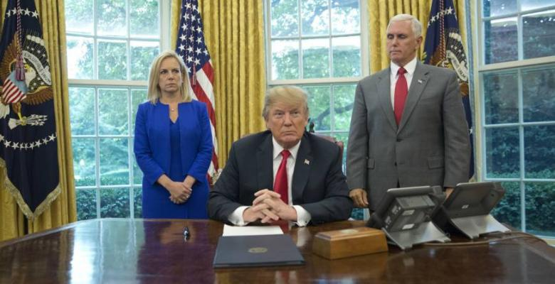 Trump Signs Executive Order Ending Family Separation Border Policy