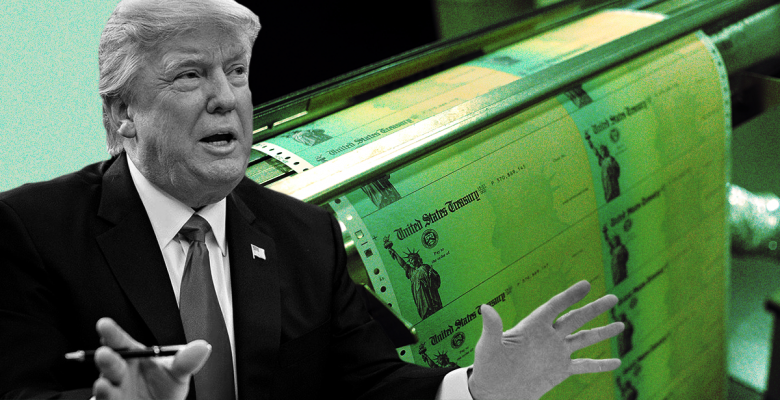 Trump's Name to Be Printed on Every Stimulus Check, Likely Delaying Payments