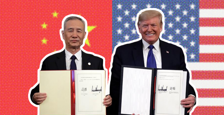 Trump Signs Phase 1 of Trade Deal After China Agrees to Buy $200 Billion Worth of Goods