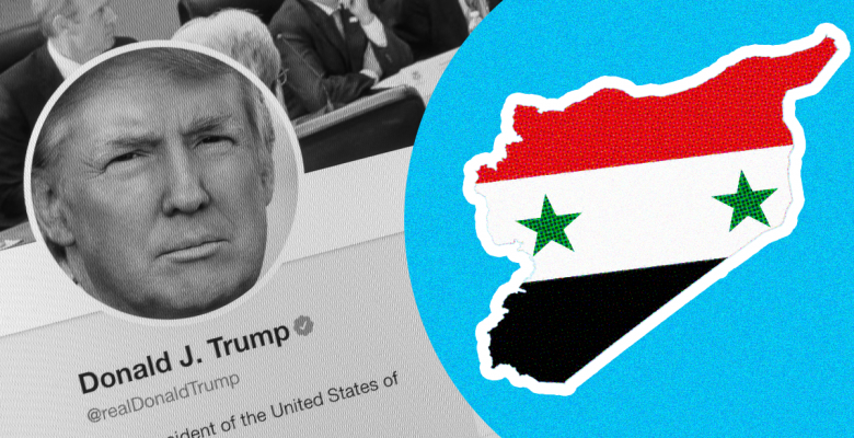 Trump Touted How Many 'Likes' His Tweets Got in Push to Pull US Troops Out of Syria
