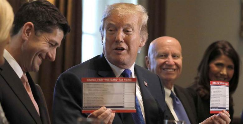 Trump Tax Bill: Hang Onto Your Bonuses, It's Downhill From Here