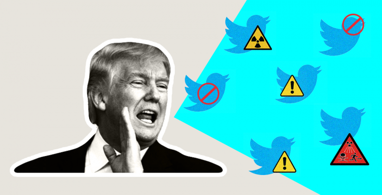 New Twitter Policy to Label 'Abusive' Tweets From Political Leaders May Impact Trump's Reach