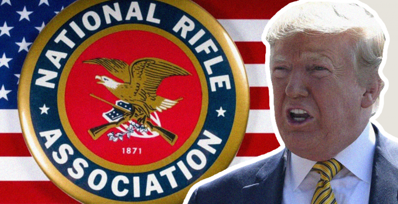 After Mass Shootings, NRA Quickly Warns Trump Against Supporting Background Checks Bill