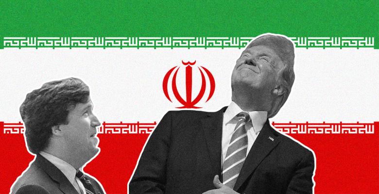 Tucker Carlson is Secretly Advising Trump on Iran