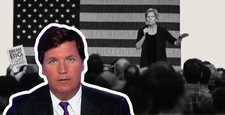 'Economic Patriotism': Fox News' Tucker Carlson Praises Elizabeth Warren's Economic Plan