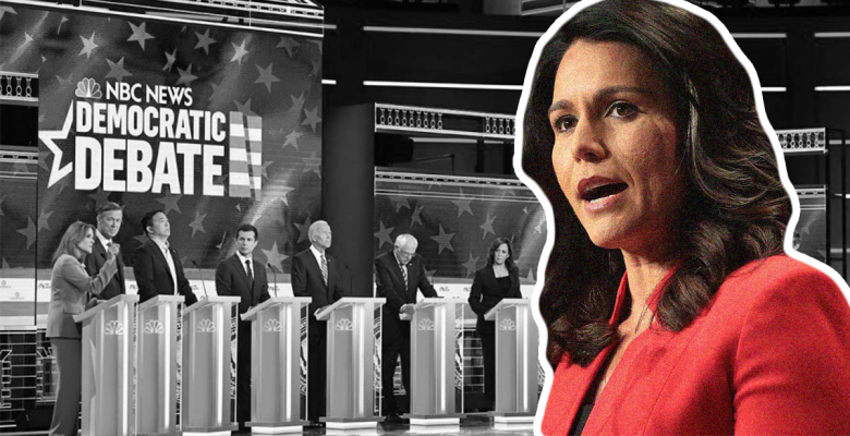 Tulsi Gabbard Threatens to Boycott Debate, Accuses Democratic Party of 'Rigging' Primary