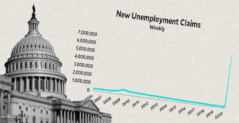 Unemployment Claims Skyrocket to More Than 16 Million as US Loses 10% of Workforce in 3 Weeks