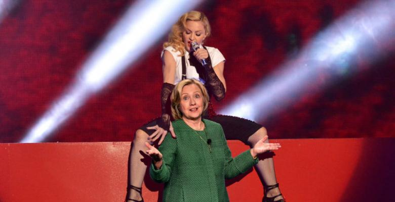 Madonna and Hillary: A Tale of Two Hypocrites
