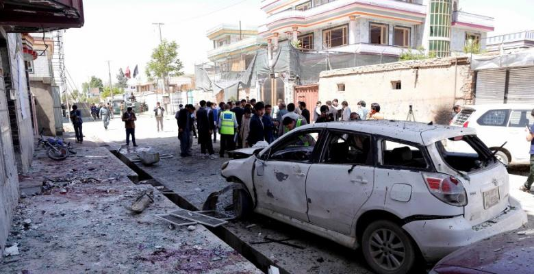 Kabul Voting Site Bombing Continues Militant Plan To Undermine Elections