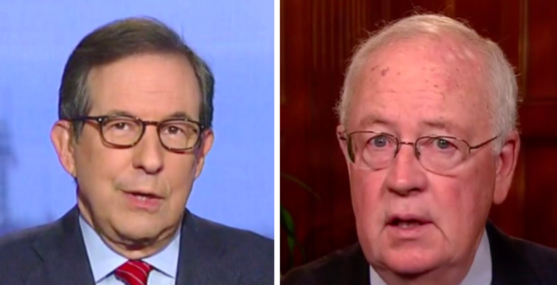 Chris Wallace Rejects Ken Starr's Claims: Trump Impeachment 'Much Bigger' Than Clinton Sex Lies