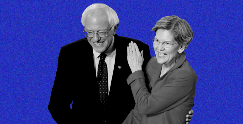 "Elizabeth Warren ""Disappointed"" That Sanders is ""Sending His Volunteers Out to Trash Me"""