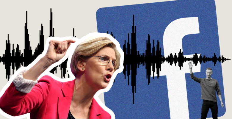 Warren Hits Back After Mark Zuckerberg Caught on Tape Calling Her an 'Existential' Threat to Facebook