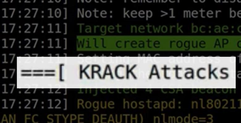 KRACK Shows Vulnerability In Wi-Fi Technology