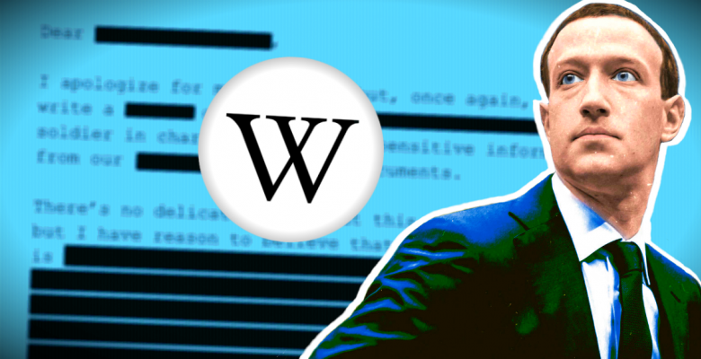 Facebook & Mainstream Media Paid Wikipedia for Reputation 'Damage Control'