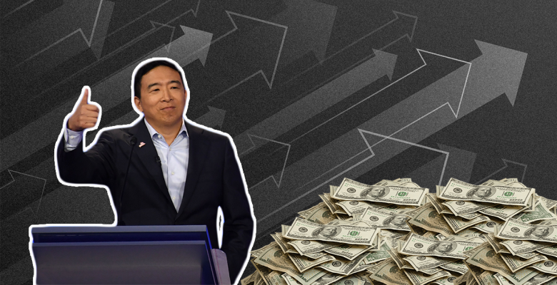 Andrew Yang Nearly Quadruples His Last Quarter Fundraising With $10 Million Haul
