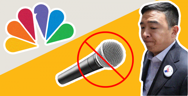 Andrew Yang Accuses NBC of Turning Off His Mic During Debate After Getting Just 3 Minutes to Speak