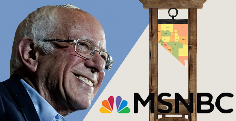 Nevada Caucuses: What MSNBC Moderates Got Wrong About Bernie Sanders