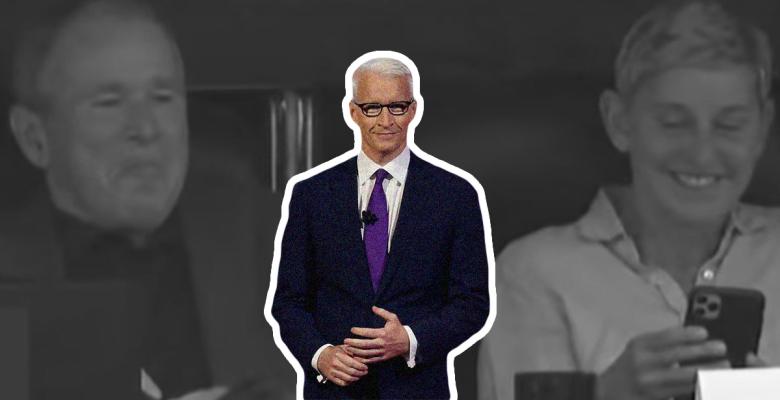 CNN Slammed For Asking About Bush and Ellen DeGeneres While Ignoring Climate Change