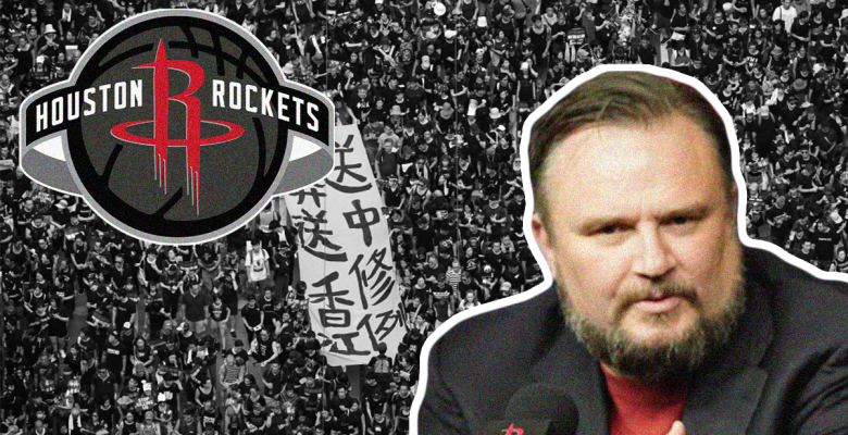 'Disgusting': NBA Ripped for Apologizing to China for Rockets GM's Tweet Backing Hong Kong Protests