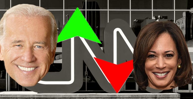 Kamala Harris Plummets 12% in New CNN Poll Showing Joe Biden Surging