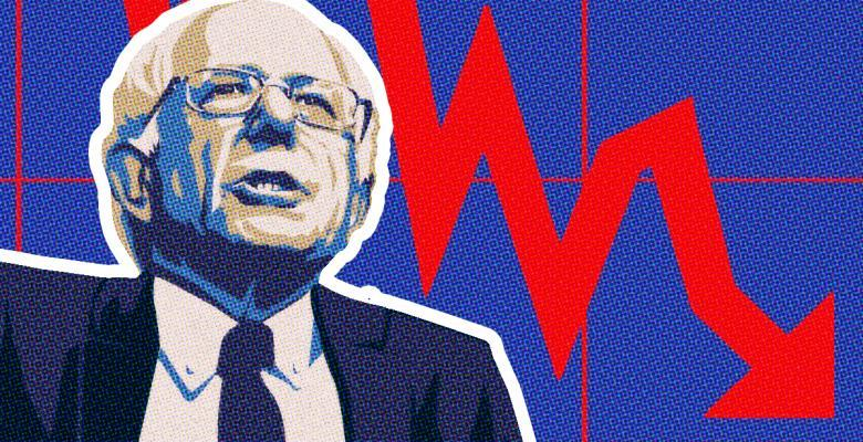 Polling Shows Support For Sanders Is Falling