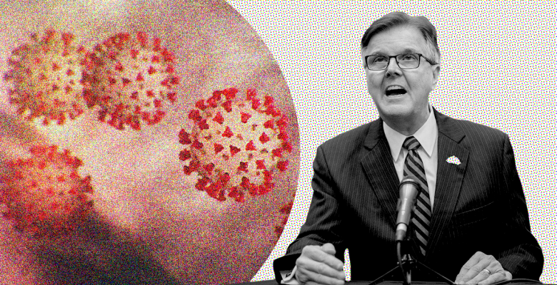 Texas Lt. Governor Says Seniors Are Willing to Die From Coronavirus in Order to Help the Economy