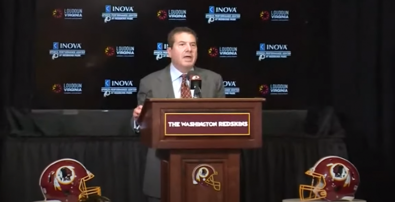 "Washington NFL Team Announces It Will Change ""Redskins"" Name and Logo"
