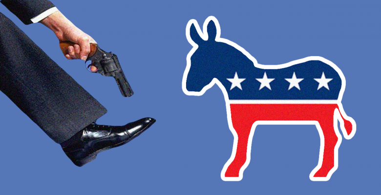 Democrats Shoot in foot