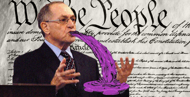 Alan Dershowitz Was Wrong: Unwritten Crimes Are Impeachable Crimes