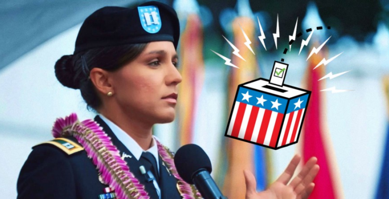 Washington Cries Election Fraud, Silent On Tulsi Gabbard's Voter Protections