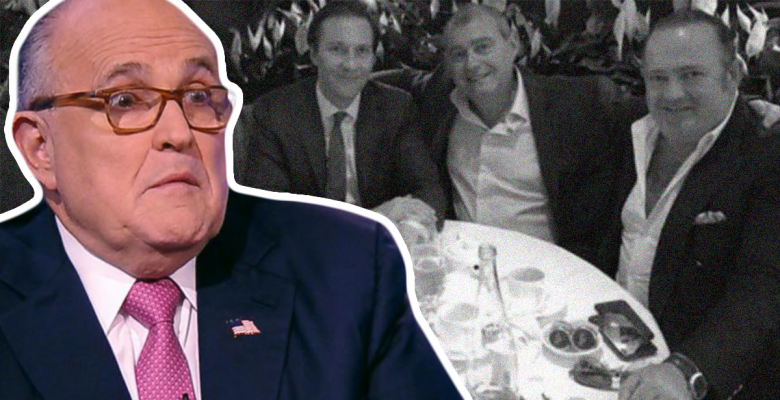 Feds Scrutinizing Rudy Giuliani's Finances After His Ukraine Associates Arrested While Leaving US