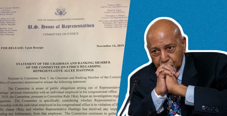 House Ethics Committee Launches Probe Into Rep. Alcee Hastings for Relationship With Staffer