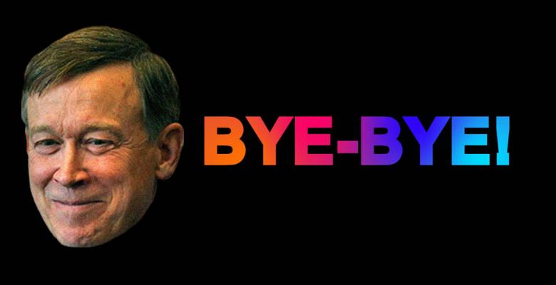 Hickenlooper Bye Bye