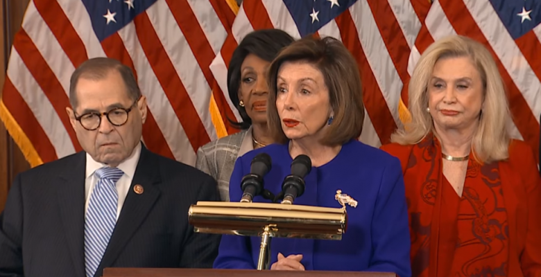 Democrats Announce Articles of Impeachment for Abuse of Power, Obstruction of Congress