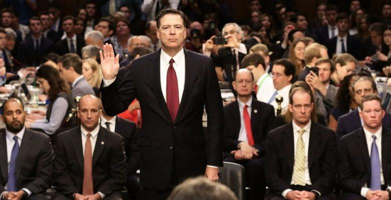 Irony: Comey's 'A Higher Loyalty' Feels Like Just Another Tell-All For Profit