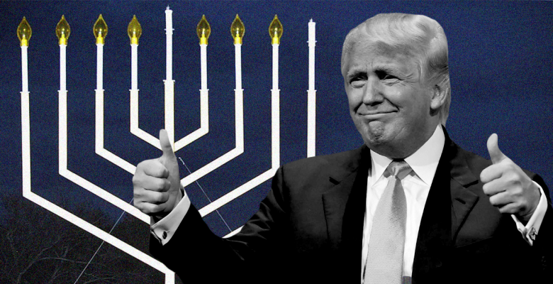 Trump to Sign Executive Order Declaring Judaism a Nationality to Crack Down on Campus Free Speech