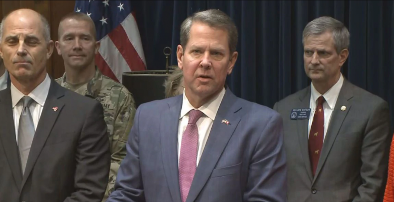 Gov. Brian Kemp to Deploy 1,000 National Guard Troops to Atlanta Over Weekend Violence