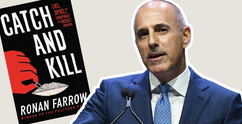 Matt Lauer 'Anally Raped' NBC Colleague, According to Ronan Farrow's New Book