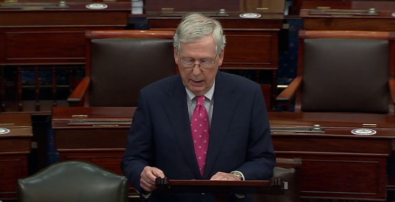 "Mitch McConnell: ""We Must Have No Stigma -- None -- About Wearing Masks"""