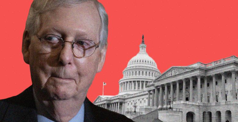 Mitch McConnell Tells Republicans Trump's Impeachment Trial Starts Next Week